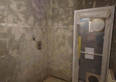 Badsanierung in Augsburg – Badezimmer während der Sanierung
