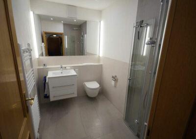 Badezimmer nach der Sanierung in Augsburg